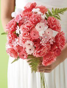 Cupcake flowers - Martha Stewart