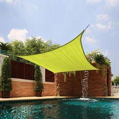Medium Square Sail Sun Shade | Overstock.com