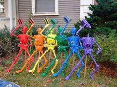 Rainbow Skeletons