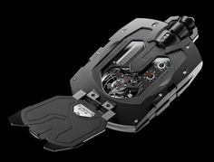 Urwerk UR-1001 Zeit Device Pocket Watch - with 10 indications and complications. Price:  $400,000.00 USD