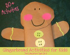 The Educators' Spin On It: Gingerbread Man Gift Wrap: Jan Brett Virtual Book Club for Kids