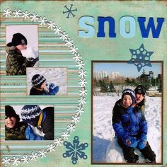 Snow Much Fun pg 1