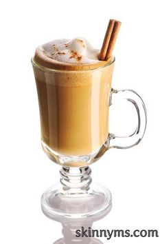I love this Chai Orange Latte during Autumn! #skinnyms #cleaneating #chai #latte #recipes