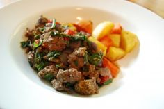 Sustainable Dish | Spiced Scrambled Beef with Sweet Potatoes