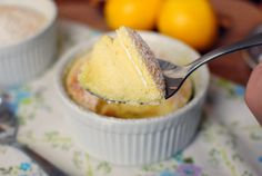 Simply Scratch » Meyer Lemon Pudding Cake
