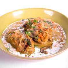 Chicken Fricassee Michael Symon