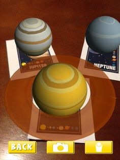 AR Flashcards Space - a great way to view the solar system in augmented reality