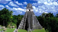 Tikal, one of the largest archaeological sites of the Mayan civilization. Better go see it before the world ends!
