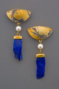earrings by Marne Ryan.