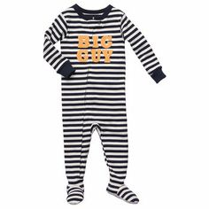Snug-Fit Cotton1-Piece Pjs