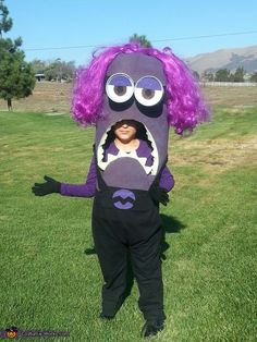 Evil Minion Kevin Homemade Costume