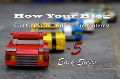 How your Blog can get more traffic in five easy #Pinterest steps!