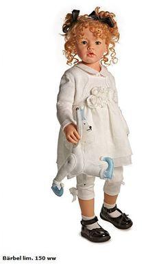 <3 Barbel Hildegard Gunzel 2013 Resin Doll