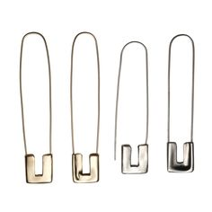 Amy Glenns Safety Pin Earring
