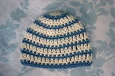 Alli Crafts: Free Pattern: Thick and Thin Striped Beanie - Newb...