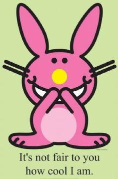 I <3 Happy Bunny