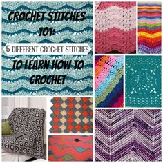 Looking to expand your crochet horizons? Crochet 101: 5 Different Crochet Stitches to Learn How to Crochet will teach you a variety of techniques.