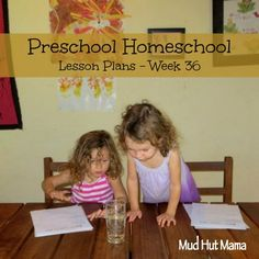 Alphabetical order, number recognition mosaic, dancing raisin experiment - Preschool Homeschool - Week 36 - Mud Hut Mama