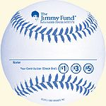 "Taco Bell®, KFC®, and The Paper Store Strike Out Cancer July 23 – August 12, 2014 Strike Out Cancer with the Jimmy Fund baseball  Team up with the Jimmy Fund by participating in Taco Bell, KFC, and The Paper Store's ""Strike Out Cancer"" pin-up campaign. Give $1, $3, or $5 #nonprofit #cause #marketing #register #fundraiser #causemarketing taco bell, paper store"