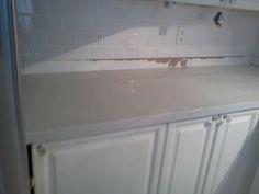 quartz counter install