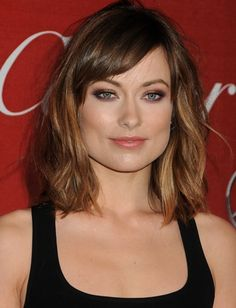 When Olivia Wilde cut her long locks, she opted for a relaxed, romantic style instead of a blunt bob. Beachy waves are easy to achieve with a little texturizing spray and combed-out curls.