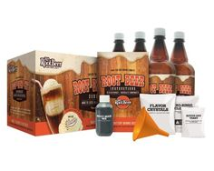 Mr. Root Beer 20041 Home Root-Beer-Making Kit Root-beer-making kit offers a fun way to brew 2 gallons of creamy old-fashioned root beer at home Includes