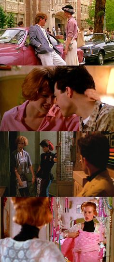 Pretty in Pink, 1986 (dir. Howard Deutch). #movie #1980s #movie--A great teenage movie which I just saw for a second time. Will appeal to many teens, and adults too.