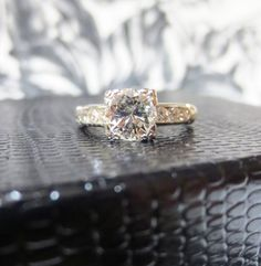 Like the cut. Unique not too frilly/girly. Quality diamond. Similar to previous pin that had sold. Second choice in this price range. Fabulous Vintage Platinum and Diamond, $4500.00
