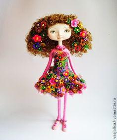 Сувенирная кукла Заря. Handmade.