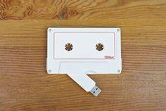 {USB Cassette Tape} make a digital mixed tape! ;)