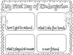 kindergarten first day, school freebi, schools, first days of kindergarten, first day of kindergarten