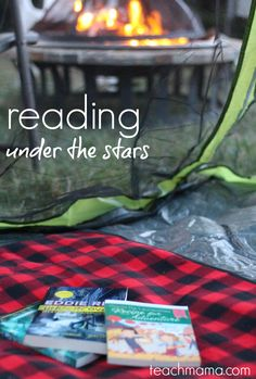 backyard camping and reading under the stars: summer reading at its best | #sponsored @scholastic #SummerReading | was it a camping fail? you decide. . .