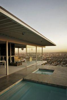 Kind a dream of... case studies, houses, dreams, architectur, studi hous, stahl hous, los angeles, pools, design studios