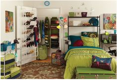 4 Ways Pinterest Can Make Your college dorm life awesome... definitely will need this