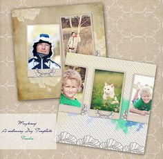 Maybemej. A ordinary day photo album template - FREEBIE by maybe*mej, via Flickr