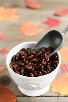 Maple & Brown Sugar Spiced Pecans
