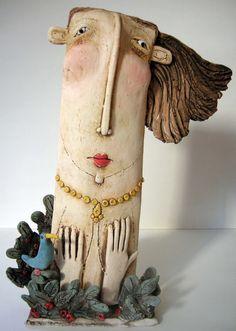 Ceramic works by Sarah Saunders #ceramic #sculpture #art