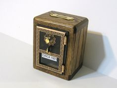 Old post office box bank