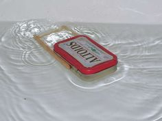 rubber-band powered altoids boat