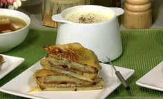 the chew | Recipe  | Cheese-encased Bacon Grilled Cheese