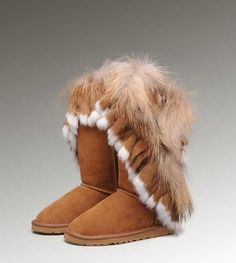 Cheap Uggs Fox Fur Tall 8688 Boots For Women [UGG UK 232] - $200.00 : Cheap UGGs Boots Store Save up to 60%!, Ever comfortable and warm like in heaven, UGG Boots are enjoying an overwhelming popularity all over the world at present.Cheap UGG US Outlet onsale