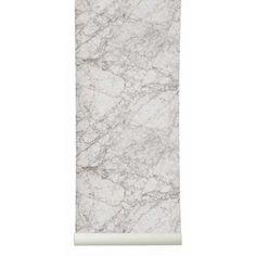 Ferm Living Marble Wallpaper - House&Hold marbl wallpap, live marbl