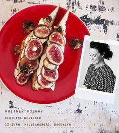 Drunken Honeyed Figs with Lemon Mascarpone Whipped Cream