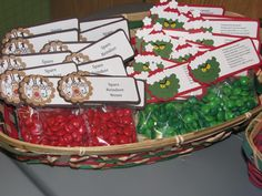 More cute Christmas crafts.