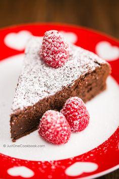 Chocolate Gateau (Chocolate Cake)   Easy Japanese Recipes at JustOneCookbook.com