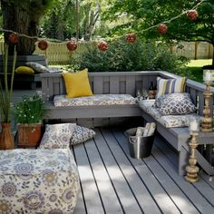 Back porch ideas from hayneedle.com