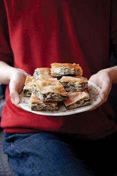 Hortopita (Swiss Chard and Feta Pie) | SAVEUR