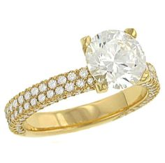 Diamonds set in gold or silver became popular as betrothal rings among wealthy Venetians toward the end of the fifteenth century.