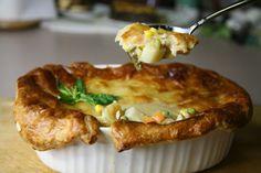 Easy Disappearing Chicken Pot Pie Recipe by Bone Suckin' Sauce