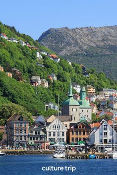 The picturesque houses of Bergen on the west coast of Norway look like they leapt straight out of someone's Instagram feed. Click for more spectacular cities that should be at the top of your post-lockdown bucket list. . . #CultureTrip #ForCuriousTravellers #TravelDestinations #BeautifulCities #EuropeanDestinations